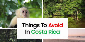 Things To Avoid In Costa Rica