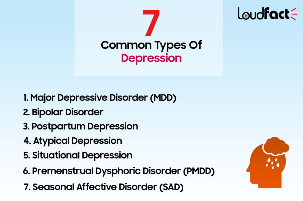 7 Common Types Of Depression and How To Deal With Them