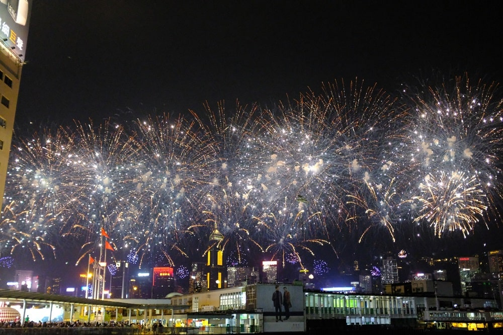 Hong Kong New Year's Eve