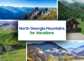 North Georgia Mountains for Vacations