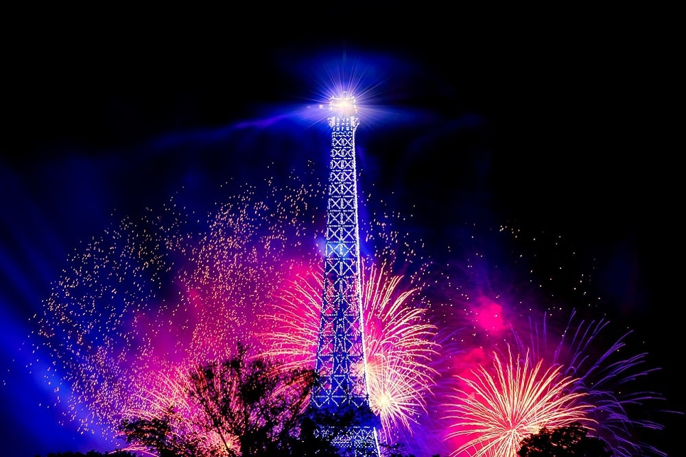 paris New Year 2019