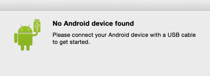 Android file transfer is not working