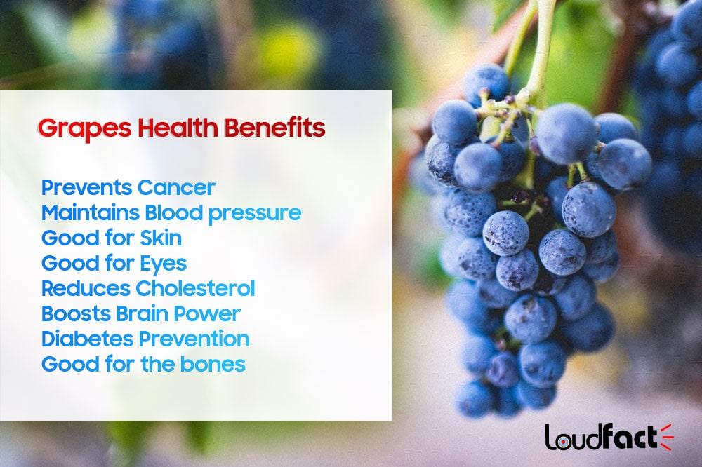 Grapes Health Benefits