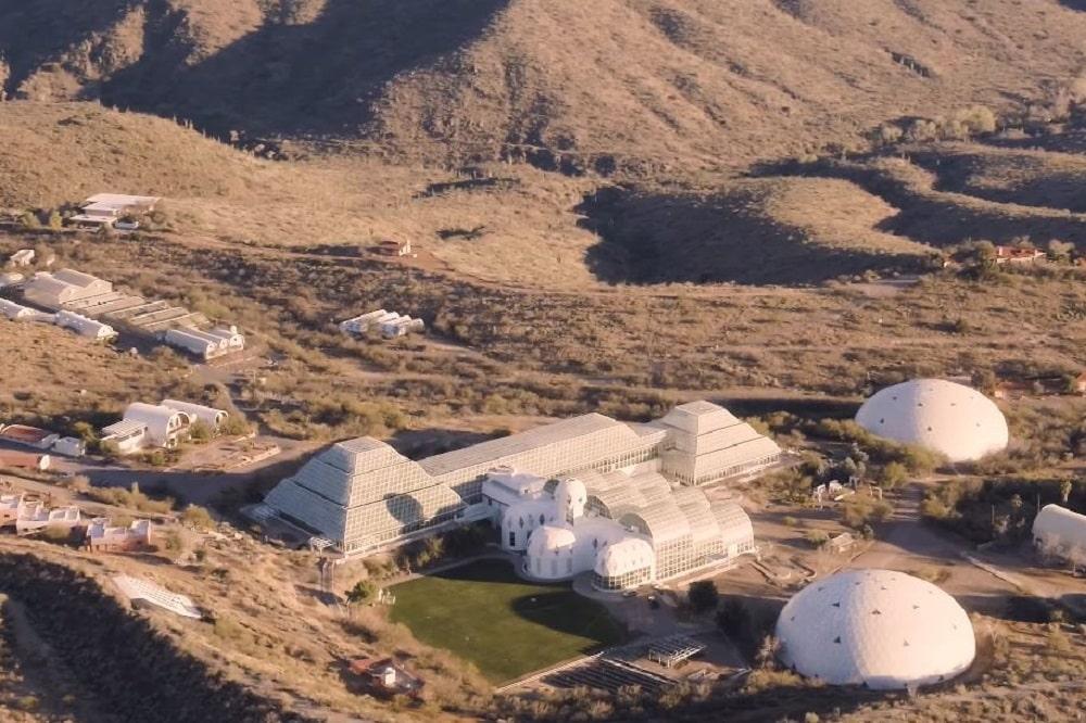 Biosphere 2 in Oracle, Arizona
