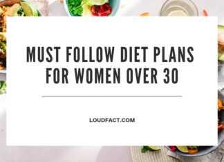 Diet Plans For Women Over 30
