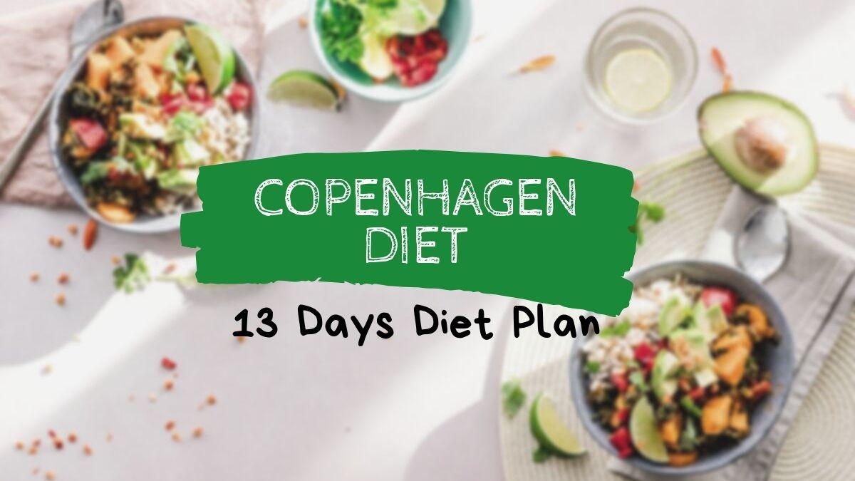 can have copenhagen diet during period